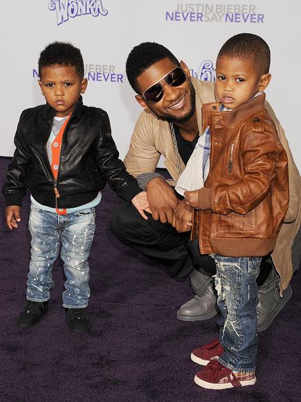 USHER, USHER V, & NAVIYD RAYMOND  photo | Usher