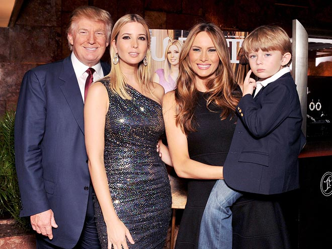 BARRON TRUMP photo | Barron Trump, Donald Trump, Melania Knauss, Melania Trump