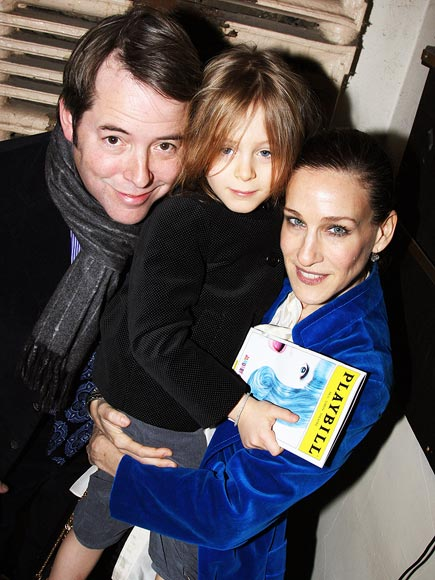 BROADWAY BABES  photo | James Broderick, Matthew Broderick, Sarah Jessica Parker