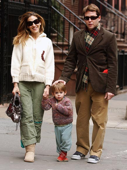 SWEATER WEATHER  photo | James Broderick, Matthew Broderick, Sarah Jessica Parker