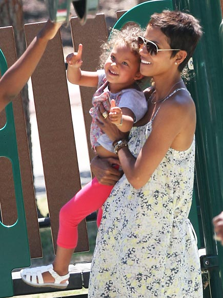 HALLE & NAHLA  photo | Halle Berry