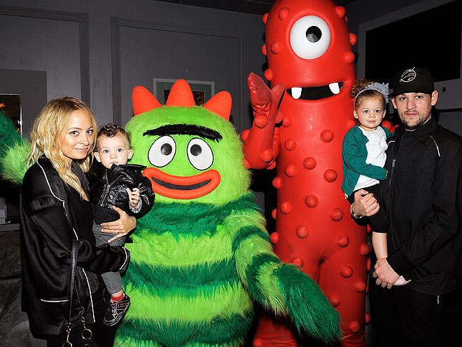 MONSTER MASH photo | Joel Madden, Nicole Richie