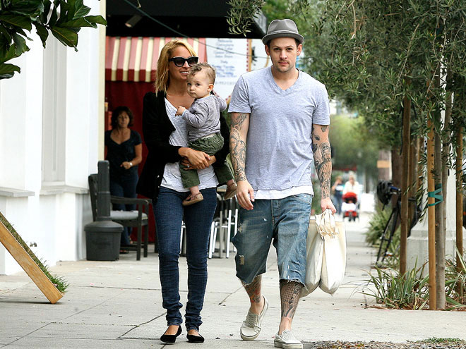 PARTY OF THREE photo | Joel Madden, Nicole Richie