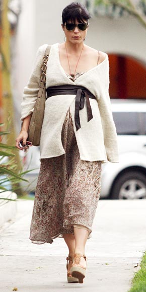 WRAP STAR  photo | Selma Blair