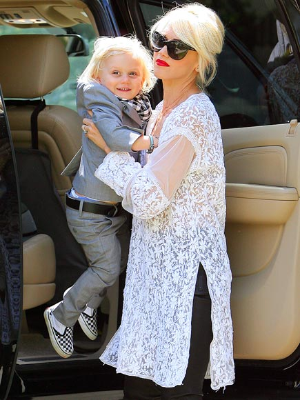 CAR SERVICE  photo | Gwen Stefani, Zuma Rossdale
