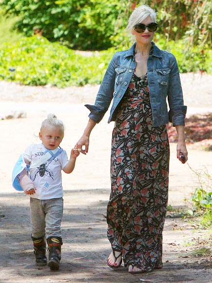 MOMMY & ME  photo | Gwen Stefani, Zuma Rossdale