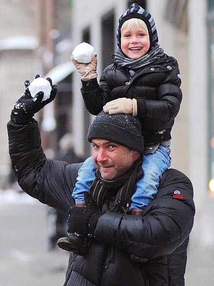 SNOW DAY  photo | Liev Schreiber