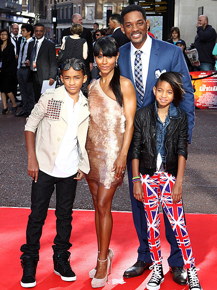 BRIT INVASION  photo | Jada Pinkett Smith, Jaden Smith, Will Smith, Willow Smith