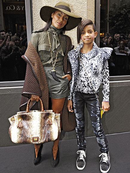 A LITTLE ITALY  photo | Jada Pinkett Smith, Willow Smith