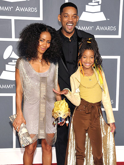 BIG DEBUT  photo | Jada Pinkett Smith, Will Smith, Willow Smith