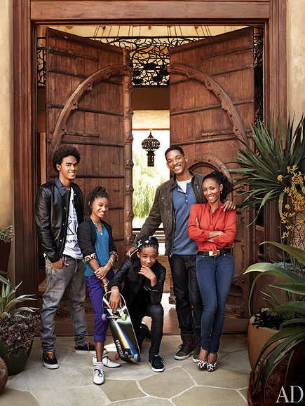 FAMILY ESTATE photo | Jada Pinkett Smith, Jaden Smith, Will Smith, Willow Smith