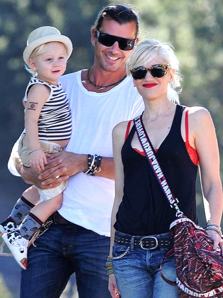 EARNING HIS STRIPES  photo | Gavin Rossdale, Gwen Stefani, Zuma Rossdale
