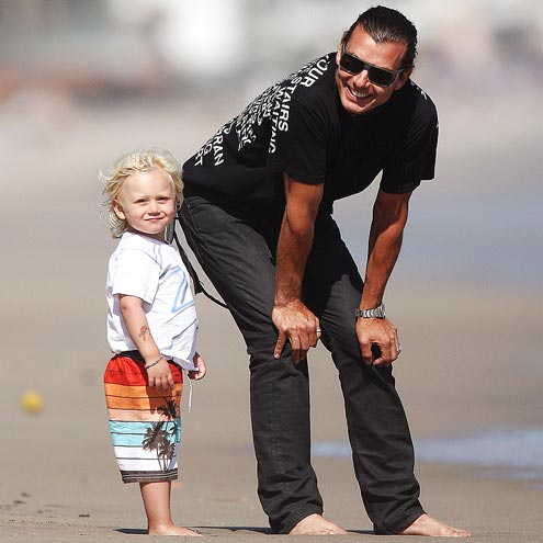 SAND MEN  photo | Gavin Rossdale, Zuma Rossdale