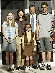Family photo of the actress, dating Justin Long, famous for Letters to Juliet & Dear John.