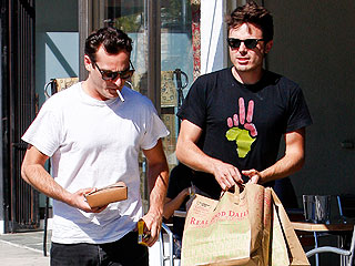 Joaquin Phoenix & Casey Affleck Catch Up in L.A. | Casey Affleck, Joaquin Phoenix