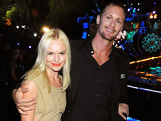Couples Watch: Kate Bosworth & Alexander Skarsgard Toast the Globes