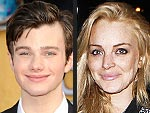 Glee's Chris Colfer Meets Lindsay Lohan at the Chateau Marmont | Chris Colfer, Lindsay Lohan
