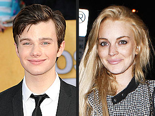 Celeb Sightings: Chris Colfer, Lindsay Lohan, Britney Spears, Jessica Simpson