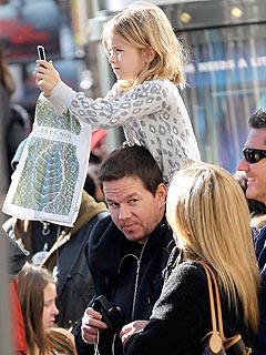 Mark Wahlberg Takes His Daughter to a Concert