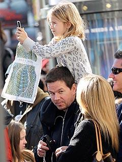 Celeb Sightings: Mark Wahlberg, Anne Hathaway, Mila Kunis, Lindsay Lohan