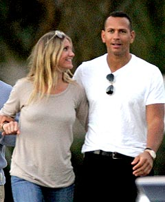 Cameron Diaz & A-Rod Not So Broken Up at MTV After Party