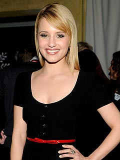 Dianna Agron's Gleeful Night Out at the Chateau Marmont | Dianna Agron