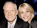 Hugh Hefner & Crystal Harris Get Cozy at a Lingerie Party | Crystal Harris, Hugh Hefner