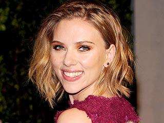 Scarlett Johansson Meets the Governator | Scarlett Johansson