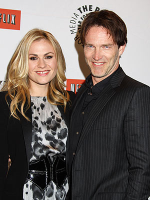 Couples Watch: Anna Paquin & Stephen Moyer&#39;s Surf & Turf Dinner | Anna Paquin, Stephen Moyer