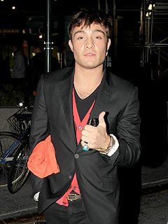 Ed Westwick Takes His Brother to the U.S. Open