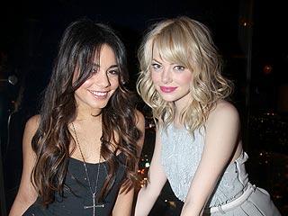 Vanessa Hudgens & Emma Stone Party in L.A. | Emma Stone, Vanessa Hudgens