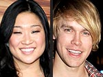Glee's Jenna Ushkowitz & Chord Overstreet Three-Minute Party Lap