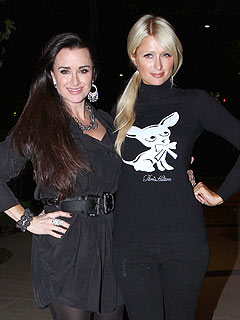 Paris Hilton's Glam Dinner with Aunt – and Housewives Star – Kyle Richards