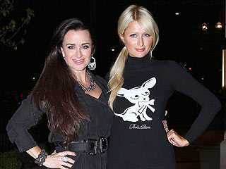 Paris Hilton's Glam Dinner with Aunt – and Housewives Star – Kyle Richards | Kyle Richards, Paris Hilton