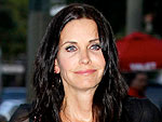 Courteney Cox Supports David Arquette's Hollywood Show | Courteney Cox