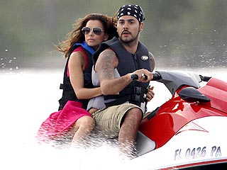 Couples Watch: Eva & Eduardo Take a Romantic Cruise in Miami | Eduardo Cruz, Eva Longoria