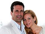 Jon Hamm Picks Out Sunglasses for His Girlfriend | Jennifer Westfeldt, Jon Hamm