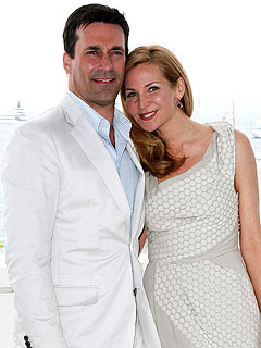 2011 photo | Jennifer Westfeldt, Jon Hamm