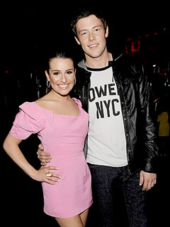 Lea Michele Sends 'Love' and 'Support' to Boyfriend Cory Monteith in Rehab | Cory Monteith, Lea Michele