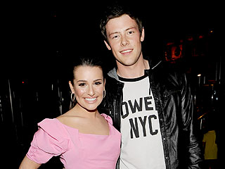 The Glee Cast Enjoys Sushi (and Dancing) in Chicago | Cory Monteith, Lea Michele