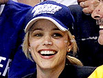 Rachel McAdams Cheers Wildly at a Hockey Game | Rachel McAdams
