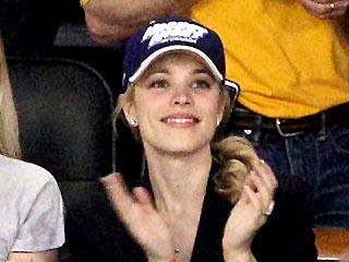 Rachel McAdams Cheers Wildly at a Hockey Game | Rachel McAdams