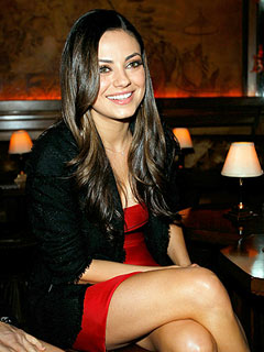Mila Kunis Blind Date: Marine Asked Her Out as a Bet