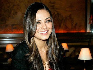 Mila Kunis Relaxes with a Dirty Martini in Boston | Mila Kunis