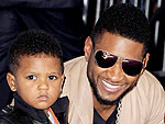 Usher Has a Pool Party with His Kids in South Beach | Usher