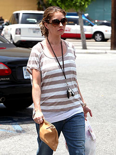 Mom-to-Be Rebecca Gayheart Loads Up on Summer Clothes in L.A. | Rebecca Gayheart