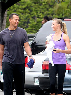 cameron diaz 240 Cameron Diaz and Alex Rodriguez Get Fit in Miami
