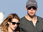 Emma Roberts & Chord Overstreet&#39;s Early-Bird Dinner | Chord Overstreet, Emma Roberts
