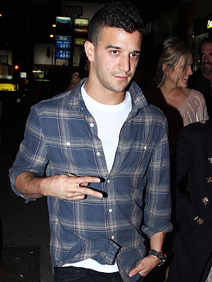 Newly Single Mark Ballas Parties at L.A. Club