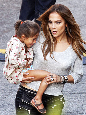 Jennifer Lopez's Daughter Charms an Action Hero | Jennifer Lopez